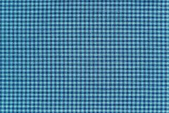 Texture of fabric with small checkered design Stock Image