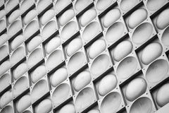 Abstract background texture, gray metal wall pattern Stock Image