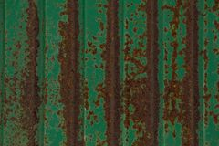 Abstract,background and texture for green zinc green rust background royalty free stock image