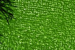 Abstract background texture of a grid and fabric of green color Royalty Free Stock Photography