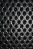 Abstract background texture of an old natural luxury. Modern style leather with rhombs. Classic black grungy skin of retro wall, door, sofa or studio interior Stock Photo