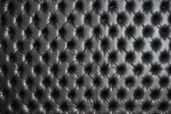Abstract background texture of an old natural luxury. Modern style leather with rhombs. Classic black grungy skin of retro wall, door, sofa or studio interior Royalty Free Stock Photos