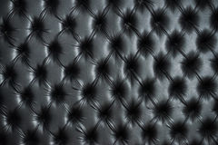 Abstract background texture of an old natural luxury. Modern style leather with rhombs. Classic black grungy skin of retro wall, door, sofa or studio interior Stock Photos