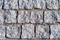 Abstract background texture of paving stone Royalty Free Stock Image