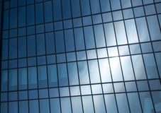 Abstract background texture with reflected in windows of modern office building Stock Photo