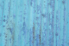 Abstract background texture of rusty corrugated iron Stock Images