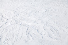 Abstract background texture of snowdrift Stock Images