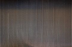 Abstract background texture of striped pattern of metal escalator foot step Stock Images