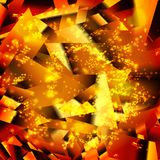 Abstract background texture such as broken glass. Design element. Vector illustration, eps 10 Royalty Free Stock Photography