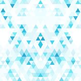 Abstract background with the texture of the triangles. White space for text.. Bright and fresh colours stock illustration