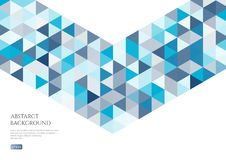 Abstract background with the texture of the triangles. White space for text. Bright and fresh colours stock illustration