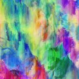 Abstract Paint Grunge Texture Strokes. An abstract background texture with vibrant paint strokes Royalty Free Stock Images