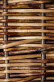 Background woven of willow twigs royalty free stock photo