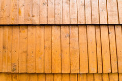 Abstract background textured of aged wooden shingles Royalty Free Stock Images