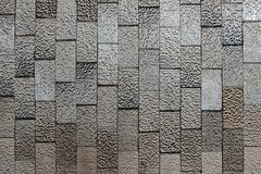 Abstract background of textured black and white shiny ceramic tiles.  royalty free stock photos