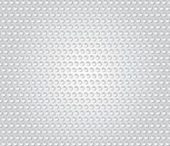 Abstract background textured dots 3d pattern on white background Stock Photography