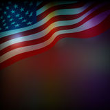 Abstract background for 4th of July. Independense Day royalty free illustration