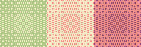 Abstract background in three colors Stock Photography