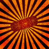 Abstract background tile with sun Royalty Free Stock Image