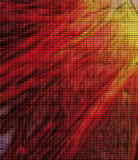 Abstract background. An abstract Tiles Red Fire Royalty Free Stock Photos