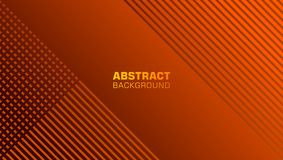 Abstract background with tilted lines in copper color royalty free illustration