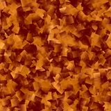Abstract background with tiny copper strips. Polygonal. Transparent elements, spatial effect Vector Illustration