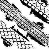 Abstract background tire prints Stock Image