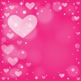 Abstract background to the Valentine's day. Stock Images