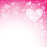 Abstract background to the Valentine's day. Royalty Free Stock Image