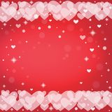 Abstract background to the Valentines day. Stock Images