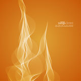 Abstract background with tongues of fire. Template for cover, business reports, layout, poster, web design, websites Stock Photos