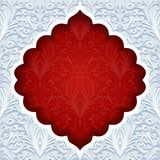 Abstract background with traditional ornament Royalty Free Stock Images