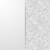 Abstract background with traditional ornament Stock Photos