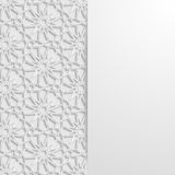 Abstract background with traditional ornament Stock Photo
