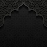Abstract background with traditional ornament Stock Images