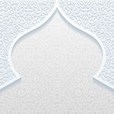 Abstract background with traditional ornament. Vector illustration Stock Photo