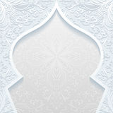 Abstract background with traditional ornament. Vector illustration Royalty Free Stock Image