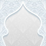 Abstract background with traditional ornament. Vector illustration Stock Photography