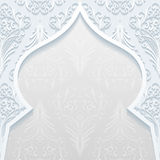 Abstract background with traditional ornament. Vector illustration Stock Photos