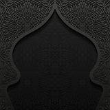 Abstract background with traditional ornament. Vector illustration Stock Images