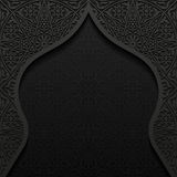 Abstract background with traditional ornament. Vector illustration Royalty Free Stock Photography