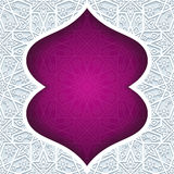 Abstract background with traditional ornament Royalty Free Stock Photos