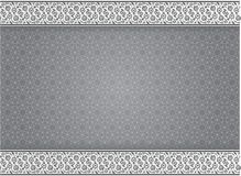 Abstract background traditional patterns in grayscale style - Ve. Abstract background Grayscale arabic traditional frame geometry pattern - Vector Backgroun stock illustration