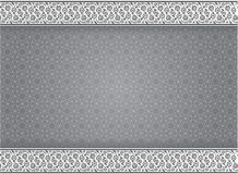 Abstract background traditional patterns in grayscale style - Vector Illustration. Abstract background Grayscale arabic traditional frame geometry pattern royalty free illustration