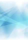 Abstract background with translucent geometric shapes. Shades of colors. Format A4 Stock Photo
