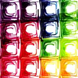 Abstract background with transparent colored. Squares. Eps 10 Stock Images