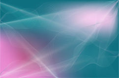 Abstract background with transparent lines. Rnabstract background with transparent wavy lines and raysrn Stock Photography
