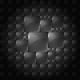 Abstract background with transparent squares. Eps Royalty Free Stock Images
