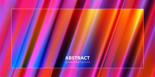 Abstract background. Trendy gradient line composition. Vector. vector illustration