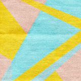 Abstract background in trendy retro 80s, 90s memphis style. Universal card, pastel colors. Retro design, fashion art. Modern geometric background in retro 80s Stock Photos